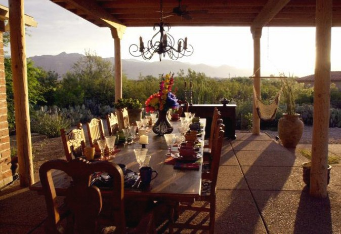 breakfast table at first light az daily star photo