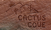 Cactus Cove Bed and Breakfast Rock Logo